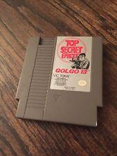 Golgo 13: Top Secret Episode Original Nintendo NES Cart NE3
