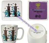 Disney Parks ABC H Is For The Haunted Mansion Mug And Trinket Box Brand New