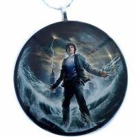 "PERCY JACKSON 2"" Glass Circle Christmas Ornament"