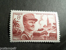 FRANCE 1953, timbre 942, MARECHAL LECLERC, neuf**, VF MNH STAMP, CELEBRITY