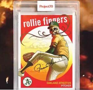 Rollie Fingers by Alex Pardee  Topps Project 70  **PRESALE**