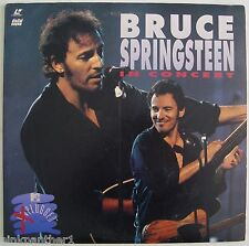 Bruce Springsteen  in Concert  MTV  PLUGGED  LIVE Television 19 Songs  Laserdisc