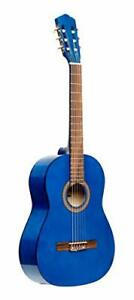 Stagg 6 String Classical Guitar Right Blue Full Size SCL50-BLUE