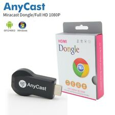 ANYCAST MEDIA PLAYER TV STICK GOOGLE CHROMECAST DONGLE PUSH CHROME CAST USB