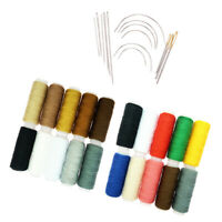 34Pcs Polyester Thread Spools Hand Sewing Needles Set DIY Sewing Projects