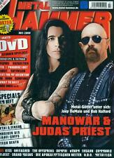 Metal Hammer 2008/07 (Poster) Manowar & Judas Priest
