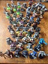 Warhammer 40k. Space Marine Army. Tactical Marines, Scouts, Devastators. Plastic