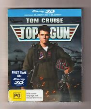 Top Gun 3D Blu-ray + Blu-ray (Slip Case) - Brand New & Sealed