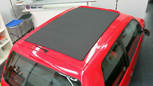 Schiebedachbezug Faltdach VW Polo / Lupo 6N1 Sonnenland (kein PVC) schwarz Neu!
