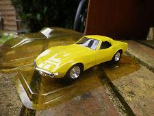 SOLIDO CHEVROLET CORVETTE 1968 neuf en boite plastique, ouverte pour la photo.