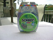 Sorry Express Travel Game 20 Minute Game Break 2007 New & Factory Sealed!