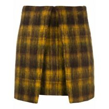 Authentic AALTO checked A-line mini skirt  size 38 (S,M), $600 orig.price