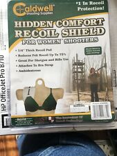 One Caldwell Hidden Comfort Woman'S Recoil Shield For Left & Right Hand Shooters