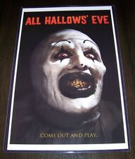 All Hallows' Eve 11X17 Horror Movie Poster