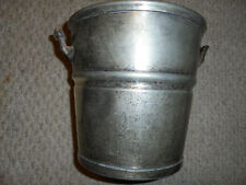 RARE & SCARCE-NICKEL/SILVER ICE BUCKET-UNITED STATES LINES-D.W.HABER NY.-4POUNDS
