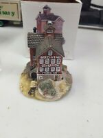 The Americana Collection Gold King Mines Porcelain Building House Ah25