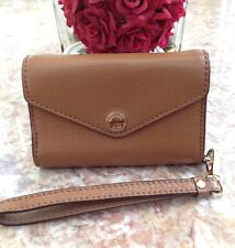 Michael Kors Iphone 4s Case Wallet Wristlet Chestnut