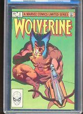 WOLVERINE #4 CGC GRADED NM+ 9.6 1989 JOHN BUSCEMA ART #0053505027