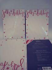 20 Sheets Jolly Holidays Stationary Hallmark Newsletter Paper New White