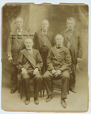 Veterans of US CIVIL WAR? 62nd PA - Rittenhouse & Jones? - Norristown - Five Men