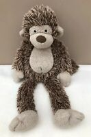 Jellycat Pootlie Monkey Brown Beige Soft Toy Comforter Soother Rare Retired