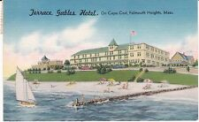 "Cape Cod Ma ""The Terrace Gables Hotel"" Postcard Massachusetts *Free Us Ship"