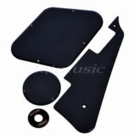 Guitar Pickguard Cavity Switch Cover for Guitar Parts Replacement Black