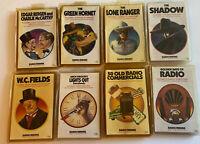 Vintage Radio Reruns Cassette Tapes Lot 8 Lone Ranger,The Shadow, Green Hornet +