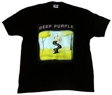 Rare Official DEEP PURPLE Europe Tour 2006 Rock Star ViP Starworld T-Shirt g.XL