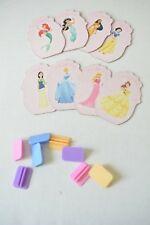Disney Princess Monopoly Jr board game replacement princess tokens