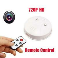 Home Security Camera Smoke Detector Office Video Anti-Theft System SPY hiddenTRC