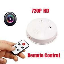 Home Security Camera Smoke Detector Office Video Anti-Theft System SPY hidden GA