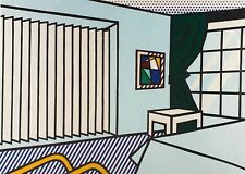 Roy Lichtenstein, Bedroom 1990, Hand Signed Lithograph A.P.