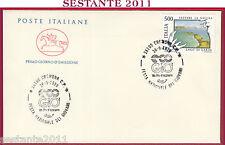ITALIA FDC CAVALLINO FESTA GIOVANI UN PO D'AZZURRO ECO GIO' 1989 CREMONA U274