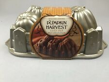 "Williams Sonoma Harvest Loaf Pan pumpkins Fall autumn 10"" x 6"" recipe included"