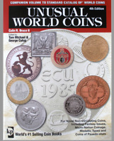 """BOOK """"UNUSUAL WORLD COINS"""" 4TH EDITION - KRAUSE  COLLIN R. BRUCE II - 548 PAG."""