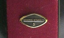 General Dynamics Corporation 5 Year Employee Service Pin