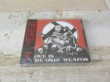 INTEGRITY / CREEPOUT - LOVE IS THE ONLY WEAPON rare JAPAN IMPORT CD NEW & SEALED