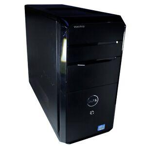 Dell Vostro D01M Desktop Intel i7 3.4GHZ 6GB DDR3 RAM, 320GB HDD DVD Windows 10