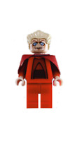 Lego Chancellor Palpatine 8039 Clone Wars Red Outfit Star Wars Minifigure