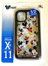 NEW DISNEY PARKS D-TECH  MICKEY MOUSE 3-D EFFECT APPLE iPHONE XR / 11 CASE COVER