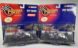 NEW Winners Circle Pit Row Series - Rusty Wallace Lot Of 2 - Elvis Nascar 1998