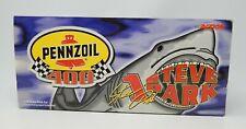 Autographed Steve Park 1:18 Pennzoil 400 1999 NASCAR Diecast Shark Car