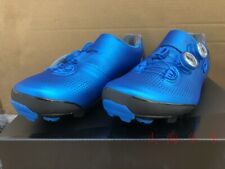Shimano SH-XC901 S-Phyre Carbon Fiber mtb Cycling Shoes xc901 (blue)