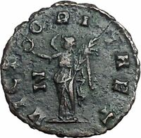 Gallienus Valerian I son Rome mint  Ancient  RARE Roman Coin Victory i54874