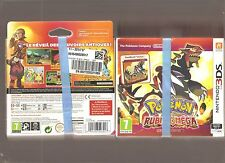 Pokemon Rubis Oméga Steel Book Jeu 3ds Nintendo