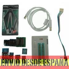 Programador universal USB Minipro TL866A con icsp + 8 sockets