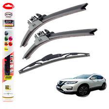 """Fits Nissan X-Trail 2014+ HEYNER SUPER FLAT PREMIUM wiper blades 26""""16""""12""""C"""