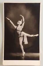 Gabriela Komleva ballet ballerina photo Kirov Ballet in Distant Planet postcard