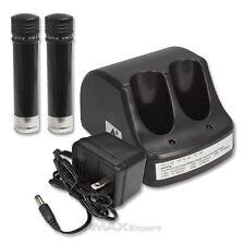 (1) Charger + (2) 3.6V Battery for Black & Decker VersaPak VP100 VP110